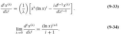 Verify the following differential equation, which applies